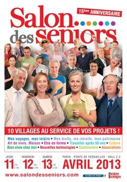 Salon des s niors 2015 parc des expositions de la porte for Porte de versailles salon des seniors