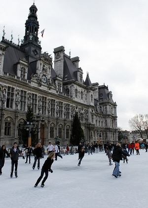 Patinoires à Paris