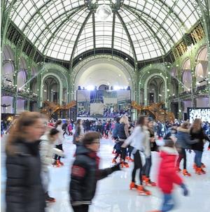 patinoires de noel paris 2018 Grand Palais des Glaces : une patinoire géante à Paris   Grand  patinoires de noel paris 2018
