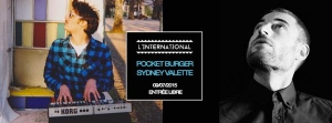 POCKET BURGER x SYDNEY VALETTE x DJ SET