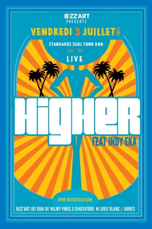 Higher feat. Indy Eka