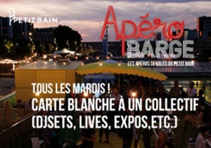 APEROBARGE CARTE BLANCHE A CRACKI RECORDS OUTDOOR SHOWCASE