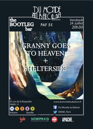 Granny Goes To Heaven + Shelterside au BOOTLEG BAR