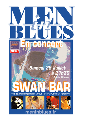 MenInBlues au SWAN BAR