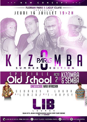 Kizomba Paris Summer Edition