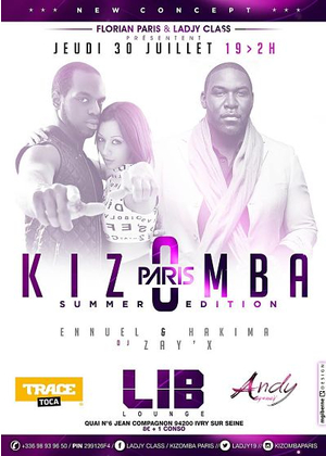 "Kizomba Paris ""DJ ZAYX EDITION3"