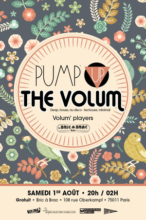 Pump Up The Volum' (Août 2015)