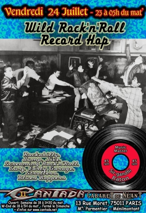 Wild Rock'n'Roll Record Hop