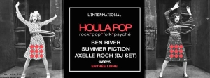 BEN RIVER x SUMMER FICTION x AXELLE ROCH (DJ SET)