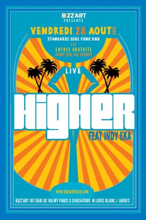 HIGHER live @ Bizz'art