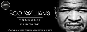 Les Boucans invitent Boo Williams
