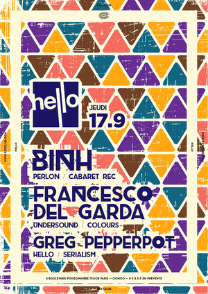 Hello : Binh, Francesco Del Garda, Greg Pepperpot