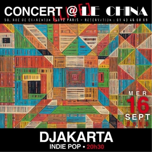 DJAKARTA EN LIVE AU CHINA