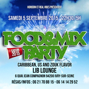 FOOD AND MIX Caribbean Flavor - SEASON 2015