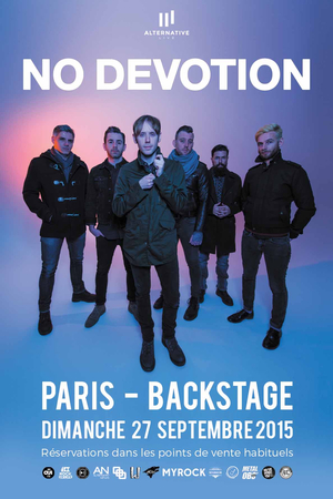 No Devotion, le retour de Lostprophets à Paris