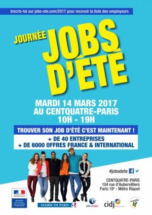 Journ e job d 39 t 2017 104 centquatre paris paris 75019 sortir paris le parisien - Date des soldes ete 2017 paris ...