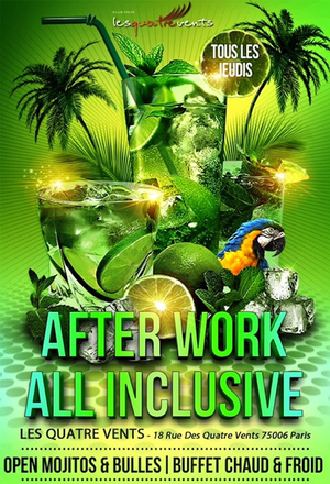 AFTERWORK MOJITOS ALL INCLUSIVE