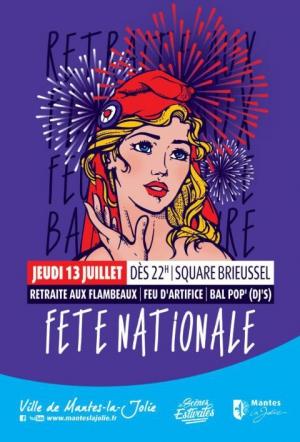 F te nationale feu d 39 artifice mantes la jolie for Salon de l orientation mantes la jolie