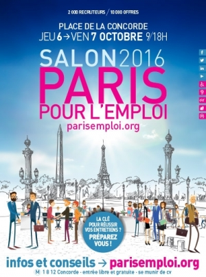 Paris pour l 39 emploi place de la concorde paris 75008 for Salon apb paris