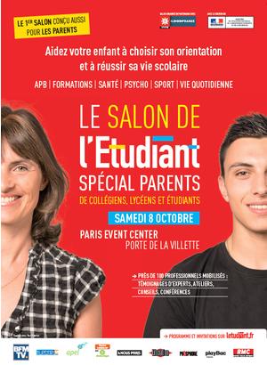 Salon de l 39 etudiant sp cial parents paris event center paris 75019 - Salon de l invention paris ...