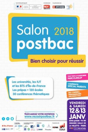 Salon postbac le de france 2018 parcoursup grande for Salon 2018 france
