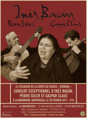 Pedro Soler, Gaspar Claus & Ines Bacan