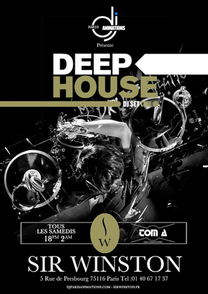 Deep House Dj Set Live Au Sir WINSTON