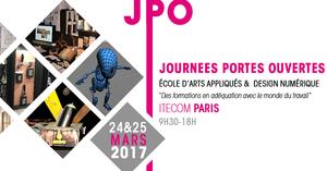 journees portes ouvertes itecom art design paris 75002 sortir paris le parisien etudiant. Black Bedroom Furniture Sets. Home Design Ideas