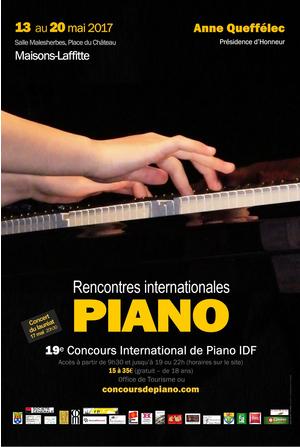 rencontre international de piano paris
