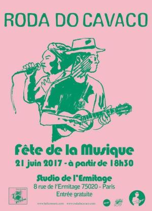 F te de la musique 2017 roda do cavaco au studio de l 39 ermitage studio de l 39 ermitage paris - Fete de la musique 2017 date ...