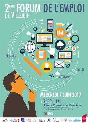 Forum de l 39 emploi espace congr s les esseli res for Salon de l emploi 2017