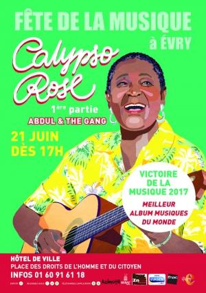 Calypso rose f te de la musique 2017 mairie de la ville d 39 evry evry 91000 sortir paris - Fete de la musique 2017 date ...