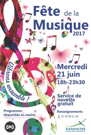 Le caf du midi f te de la musique 2017 le caf du midi sannois 95110 sortir paris - Fete de la musique 2017 date ...