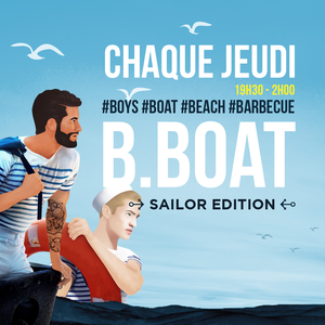 BBOAT : L'afterwork gay de l'été (bateau, terrasses, barbecue)