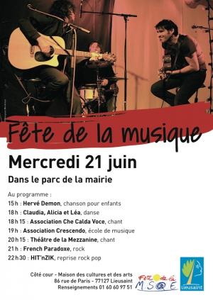 Parc De La Mairie Fete De La Musique
