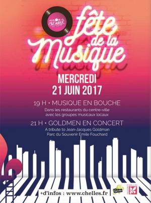 Musique en bouche f te de la musique 2017 rue ren salle chelles 77500 sortir paris - Fete de la musique 2017 date ...