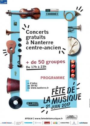 Parvis de la maison de la musique f te de la musique 2017 parc des anciennes mairies et - Fete de la musique 2017 date ...