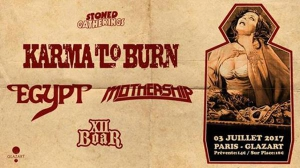 Karma To Burn - Egypt - Mothership - XII Boar - PARIS