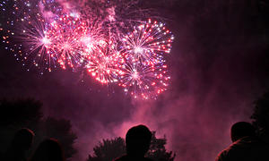 Fête Nationale à Saint Rémy les Chevreuse : feu d'artifice et animations
