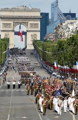 Défilé Du 14 Juillet   Fête Nationale Du 14 Juillet