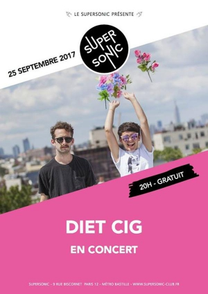 Diet Cig au Supersonic // Free