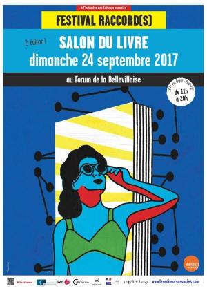 2e salon du livre raccord s bellevilloise paris 75020 - Salon paris septembre 2017 ...