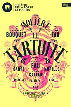Le tartuffe th tre de la porte saint martin paris - Plan salle theatre porte saint martin ...