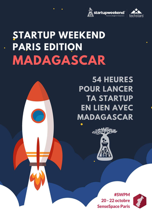 startup weekend paris dition madagascar makesense au 11 rue biscornet 75011 paris paris. Black Bedroom Furniture Sets. Home Design Ideas