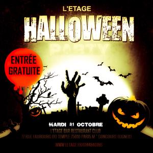 Halloween A L Etage Etage Paris 75010 Sortir A Paris Le