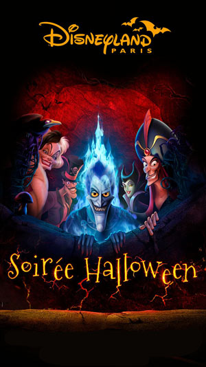 La Soirée Halloween Disney Disneyland Paris Chessy 77777