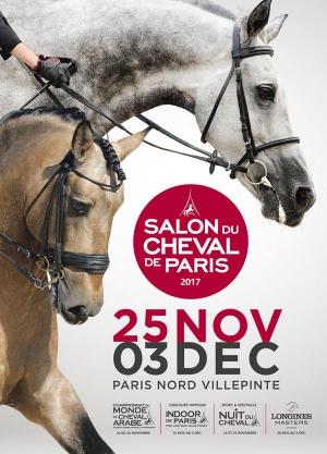 Salon du cheval de paris semaine halls 5a 5b parc for Salon etudiant 2017 paris