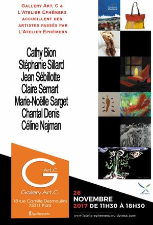 Atelier ephemers - rencontre d'artistes