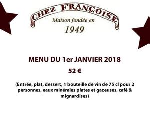 Menu De Noel Chez Henri Boucher.Menu 01 Janvier Chez Francoise Chez Francoise Paris