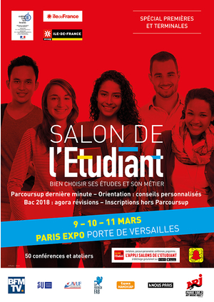 Salon de l 39 etudiant paris parc des expositions de la - Salon etudiant paris ...